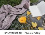 picnic in the nature | Shutterstock . vector #761327389