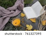 picnic in the nature | Shutterstock . vector #761327395