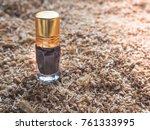fragrant oil. scented oil.... | Shutterstock . vector #761333995