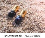 fragrant oil. scented oil.... | Shutterstock . vector #761334001