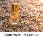 fragrant oil. scented oil.... | Shutterstock . vector #761334019