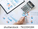 business financing accounting... | Shutterstock . vector #761334184