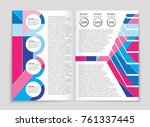 abstract vector layout... | Shutterstock .eps vector #761337445