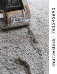 hemp natural floor isolation | Shutterstock . vector #761343691