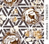 Seamless Floral Pattern. Big...