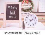 christmas holiday sale 20...   Shutterstock . vector #761367514
