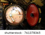 inside the submarine | Shutterstock . vector #761378365