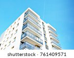 Modern Apartment Buildings On ...