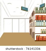 convenience store | Shutterstock .eps vector #76141336