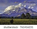 popocatepetl volcan vulcano... | Shutterstock . vector #761416231