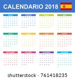Spanish Calendar For 2018....