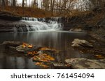 wahoosh falls of mississauga... | Shutterstock . vector #761454094