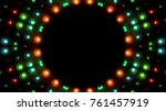 floodlights with space... | Shutterstock . vector #761457919