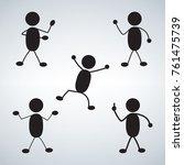Stick Figure Standing Position...
