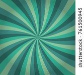 sunburst background. vector.... | Shutterstock .eps vector #761500945