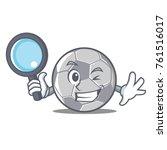 detective football character... | Shutterstock .eps vector #761516017