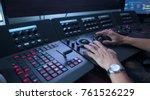telecine controller machine and ... | Shutterstock . vector #761526229