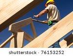 roofer | Shutterstock . vector #76153252