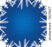 christmas winter background | Shutterstock .eps vector #7615627
