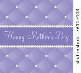 english mother's day card in... | Shutterstock .eps vector #76157443