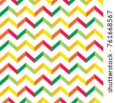 bright chevron pattern | Shutterstock .eps vector #761668567