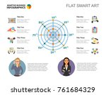 radar chart slide template   Shutterstock .eps vector #761684329