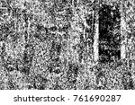 grunge black and white pattern. ... | Shutterstock . vector #761690287