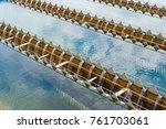 water treatment plant in outdoor | Shutterstock . vector #761703061