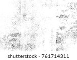 grunge black and white pattern. ... | Shutterstock . vector #761714311