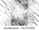 grunge black and white pattern. ...   Shutterstock . vector #761715307