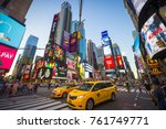 new york city   august 23  2017 ... | Shutterstock . vector #761749771
