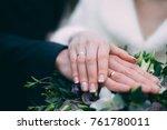rings of lovers | Shutterstock . vector #761780011