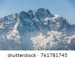Peaks Of Mountains Above The...