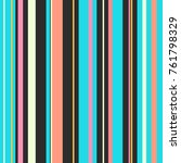 retro bright colorful seamless... | Shutterstock .eps vector #761798329