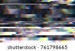 unique design abstract digital... | Shutterstock . vector #761798665