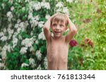 Cheerful  Excited Baby Having...