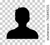 man user profile  icon. avatar ... | Shutterstock .eps vector #761845231