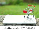 trolley with computer  idea for