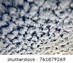 Small photo of Altocumulus cloud formation