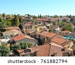 view of the ancient kaleici...   Shutterstock . vector #761882794