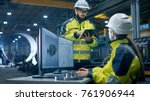 inside the heavy industry... | Shutterstock . vector #761906944