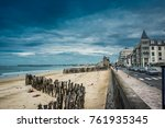 perfect balance   city and the... | Shutterstock . vector #761935345
