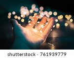 lights will guide you | Shutterstock . vector #761939779