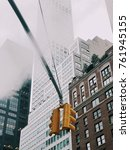 steam new york streets and... | Shutterstock . vector #761945155