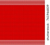 christmas sweater pattern design | Shutterstock .eps vector #761966839