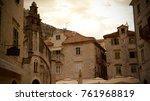 montenegro kotor town | Shutterstock . vector #761968819