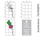copy the picture using grid... | Shutterstock .eps vector #761968891