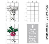 copy the picture using grid... | Shutterstock .eps vector #761968939