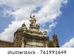 cathedral palermo sicily | Shutterstock . vector #761991649