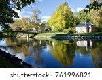by the canal  stockholm  sweden | Shutterstock . vector #761996821